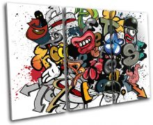 Grafitti Art Illustration - 13-0269(00B)-TR32-LO